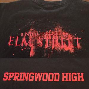 Other - Nightmare on Elm Street SPRINGWOOD HIGH T-Shirt L